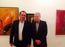 02.07.2014 Откриване на изложба: Петър Пиронков